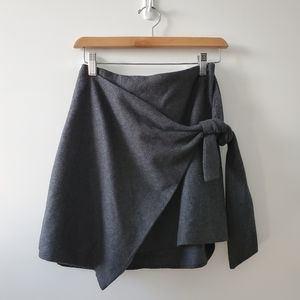 Wilfred Charcoal Grey Wool skirt